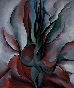 O'Keeffe, Autumn Trees--The Maple