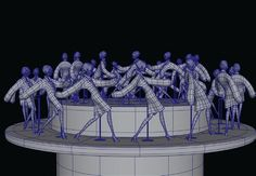 Printable Jo Ratcliffe Zoetrope Figurine by EDV Kids Museum, Kinetic Toys, 3d Printable Models, Art Optical, Popular Mechanics, Automata, Mechanical Engineering, Hobbies And Crafts, 21st Century