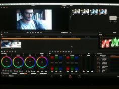 DavinciResolve interface