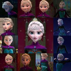 Elsa in her coronation dress Disney Magic, Disney Frozen, Disney Pixar, Disney Nerd, Disney Princess Outfits, Disney Princesses, Disney Characters, Frozen Elsa And Anna, Queen Elsa