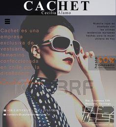 Maqueta de Sitio Web para Cachet Cecilia Alamo