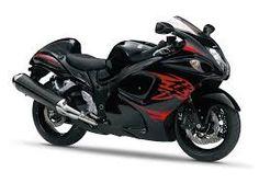 dit is 1 van de snelste motor fietsen hij heet een hayabosa