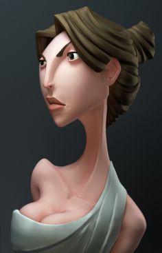 ArtStation - Aphrodite , Itay Schlesinger