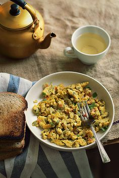 Masala Egg Scramble
