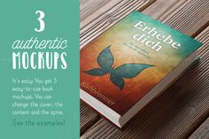 Authentic Book Mockups Vol. 01 by PetraBurger on Creative Market