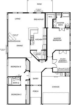 Plan 3005 - Wedgewood Falls Estates by KB Home - Zillow | Home Plans ...