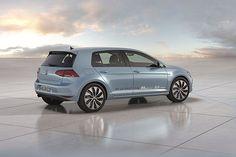 Innovationen vermindern den Kohlendioxid-Ausstoß bei konventionellen Motoren.  Golf Blue Motion