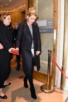 Kate Moss Photos: Printemps Christmas Decorations Inauguration in Paris