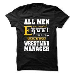 EM-Wrestling Manager T-Shirt Hoodie Sweatshirts aui