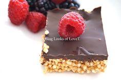Quinoa Schnitte selber machen, glutenfreies Rezept mit Superfood Superfood, Foodblogger, Quinoa, Raspberry, Birthday Cake, Fruit, Desserts, Baby, Cake Ideas