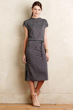 Jersey Midi Dress #anthropologie #anthrofave
