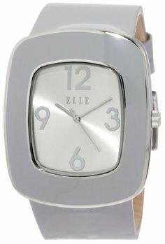 ELLETIME Women's EL20015S12C Grey Leather Retro Watch ELLETIME. $135.00. Water-resistant to 99 feet (30 M). Case diameter: 39.20 mm. Metal case. Creative ruby logo. Quartz movement