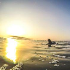 Mar y luz... listo el SUNSET....