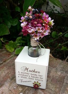 Mother Day Floral Arrangement  A mother holds by KAArtisticEvents, $20.00