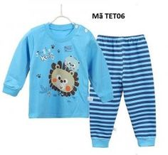 Bộ đồ dời cotton cho bé TET06 - Giá 205.000đ