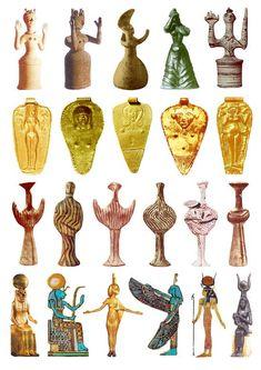 22 Goddess Sculptures from the Late Bronze Age (plate Ancient Goddesses, Gods And Goddesses, Ancient History, Art History, Women Artist, 3d Figures, Mother Goddess, Sacred Feminine, Ancient Jewelry