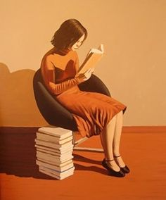 Reading … absorption reader / Lecturas… ensimismamiento lector (ilustración de Pablo Gallo)