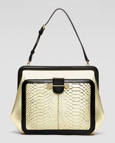 Daphne Python Satchel by Jason Wu at Bergdorf Goodman.