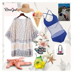 """""""Rose gal  89"""" by fatimazbanic ❤ liked on Polyvore featuring Dolce&Gabbana, Luigi Bormioli, Old Navy and Accessorize"""