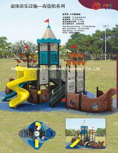 Outdoor Playground -Pirate Ship Wishful thinking!