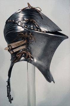 "carmelitecathare:  "" Germany, tornament helmet, 1500  Metropolitan museum  ""  Badass!"