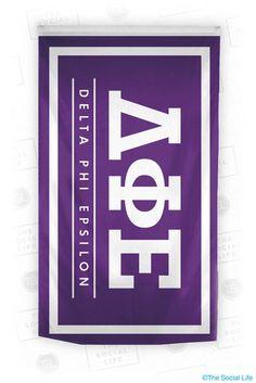 Delta Phi Epsilon Standard Flag