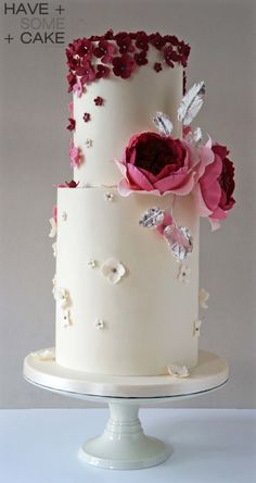 6 Wedding Cake Trends in 2020 Unique Wedding Cakes, Beautiful Wedding Cakes, Gorgeous Cakes, Wedding Cake Designs, Pretty Cakes, Wedding Cake Toppers, Fondant Cakes, Cupcake Cakes, Just Cakes