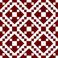 Penny Rose Fabrics Blog: Traditional Block Thursday: Jacob's Ladder