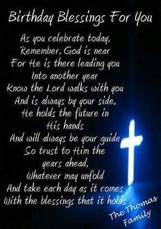 Birthday Prayer For Friend, Happy Birthday Pastor, Brother Birthday Quotes, Happy Birthday Brother, Birthday Poems, Birthday Images, Grandson Birthday Wishes, Birthday Text, Jesus Birthday