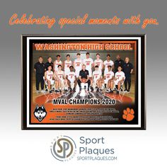 """""""I cannot thank Dennis and his team enough for the exceptional customer service, quality product and meeting and exceeding all of my expectations. These plaques will be a life long memory for our coaches when we present them at our basketball banquet.They look FANTASTIC! I HIGHLY recommend Sport Plaques/Apple Awards!"""" We love helping teams celebrate all the special moments. Thanks for letting us serve you. #PhotoPlaques #TeamMemories #Champions #TournamentAwards Team Photos, Sports Photos, Washington High School, Award Plaques, Parent Night, Sports Awards, Service Quality, Coaches, Banquet"""