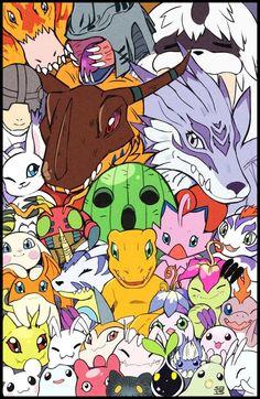 Listen to every Little Glee Monster track @ Iomoio Manga Anime, Digimon Fusion, Digimon Wallpaper, Digimon Digital Monsters, Digimon Adventure Tri, All Things Cute, Random Things, Manga Games, Animes Wallpapers