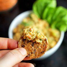 """Lentil + Chickpea Salad Sandwiches {a.k.a. Vegan """"Egg"""" Salad Sandwiches} - ilovevegan.com #vegan #glutenfree"""