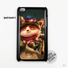 Teemo, League of Legends Phone Case For Apple, iphone 4, 4S, 5, 5S, 5C, 6, 6 +, iPod, 4 / 5, iPad 3 / 4 / 5, Samsung, Galaxy, S3, S4, S5, S6, Note, HTC, HTC One, HTC One X, BlackBerry, Z10