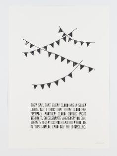 Poster by Muumuru. Circus Poster, Moomin, Silver Lining, Helsinki, Scandinavian Design, Vintage Furniture, Cheer, Lifestyle, Sayings