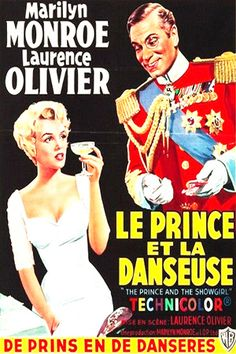 1957: The Prince and The Showgirl starring Marilyn Monroe & Laurence Olivier (Belgian movie poster)  .... #marilynmonroe #movieposter #filmposter #pinup #iconic #movieclassic #monroe #vintageposter #normajeane #1950s