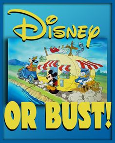 Disney or bust