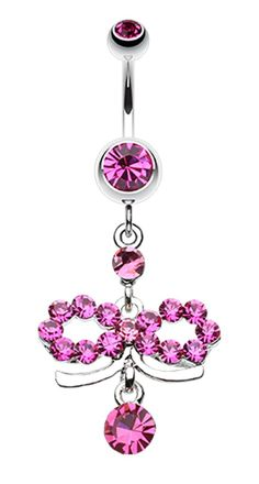 Infinity Dazzle Belly Button Ring #BellyRing #BodyMod #BodyModification #Piercings