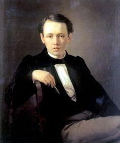 Василий Григорьевич Перов  Автопортрет   1851