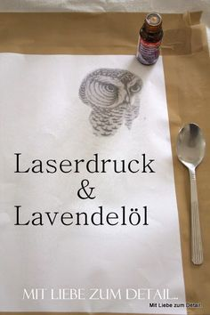 Mit Liebe zum Detail: Lavendeldruck-DIY