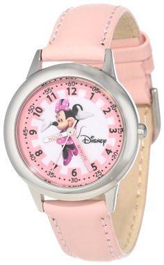 Disney Kids' W000038 Minnie Mouse Stainless Steel Time Teacher Watch Disney,http://www.amazon.com/dp/B005OVCQPC/ref=cm_sw_r_pi_dp_q74ltb0TFJWNFMP5