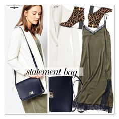 """""""Statement bag"""" by leathersatchel ❤ liked on Polyvore featuring Maison Margiela and MICHAEL Michael Kors"""