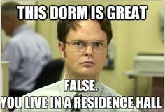 Residence Life requires correct terminology...