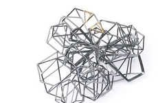Chaotic Geometric Jewelry #Geometry #Christmas #Jewelry