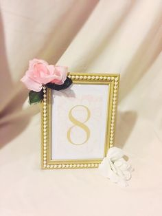 Gold painted picture frame-lined with pearl beads-decor-wedding-bridal shower-baby shower-home decor-gold-pearls-silk flowers by GlamorOnABudget on Etsy https://www.etsy.com/listing/250521416/gold-painted-picture-frame-lined-with