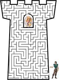 labyrinthe à imprimer facile