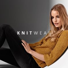 Knitwear for a cozy monday on the couch! 💛