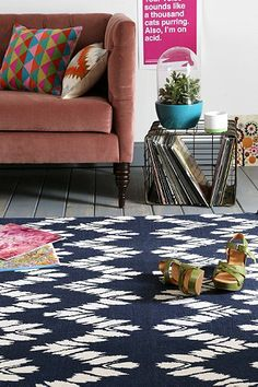 Magical Thinking Chevron Handmade Rug