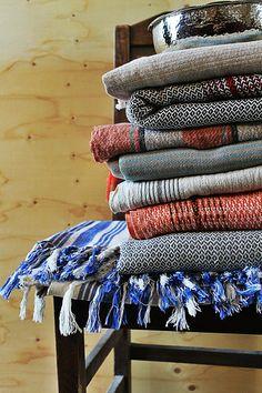 hamamdoek voor…  love these hammam towels!
