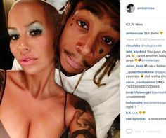 Welcome To Chitoo's Diary.: Wiz Khalifa and Amber Rose loved up in new instagr...