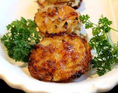 Muffin Tin Onion Gruyere Potato Stacks.
